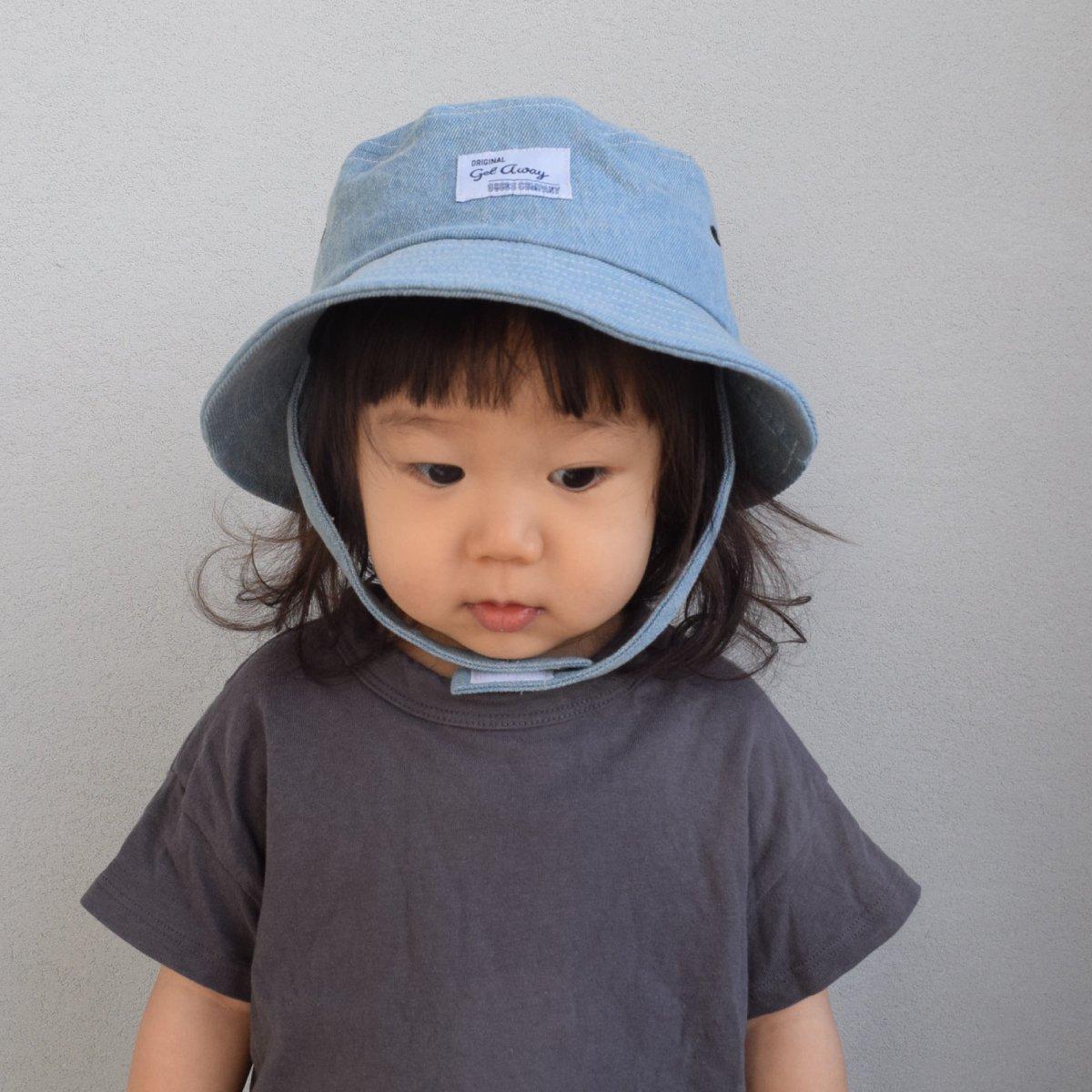 【BABY】Denim Wash Hat 詳細画像16