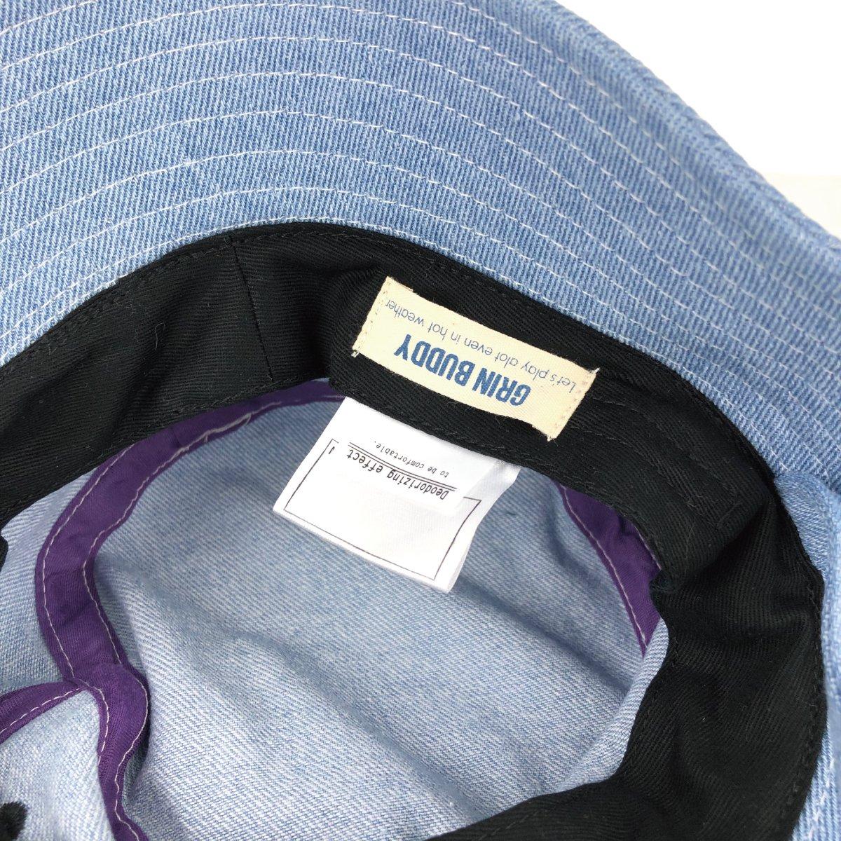 【BABY】Denim Wash Hat 詳細画像9