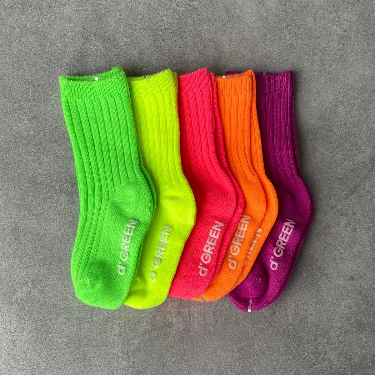 【KIDS】Neon Socks 詳細画像1