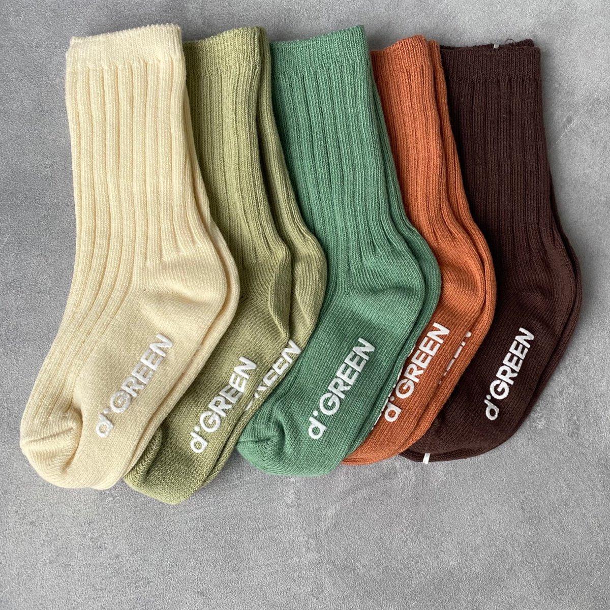 【KIDS】Pistachio Socks 詳細画像1