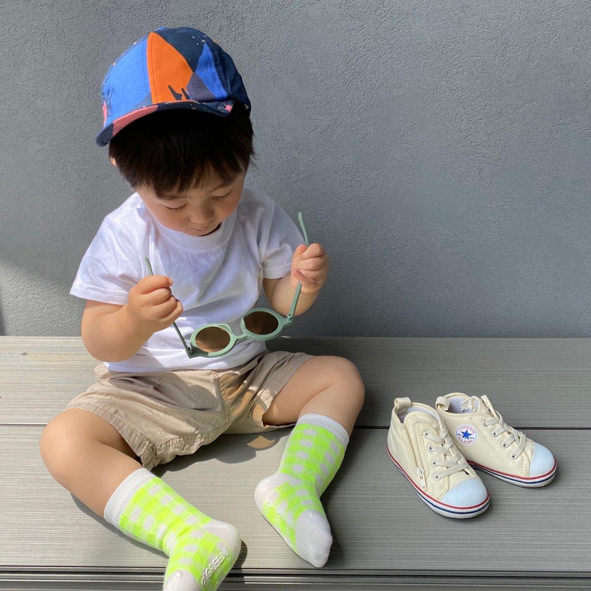 【BABY】Neon Check Socks 詳細画像19