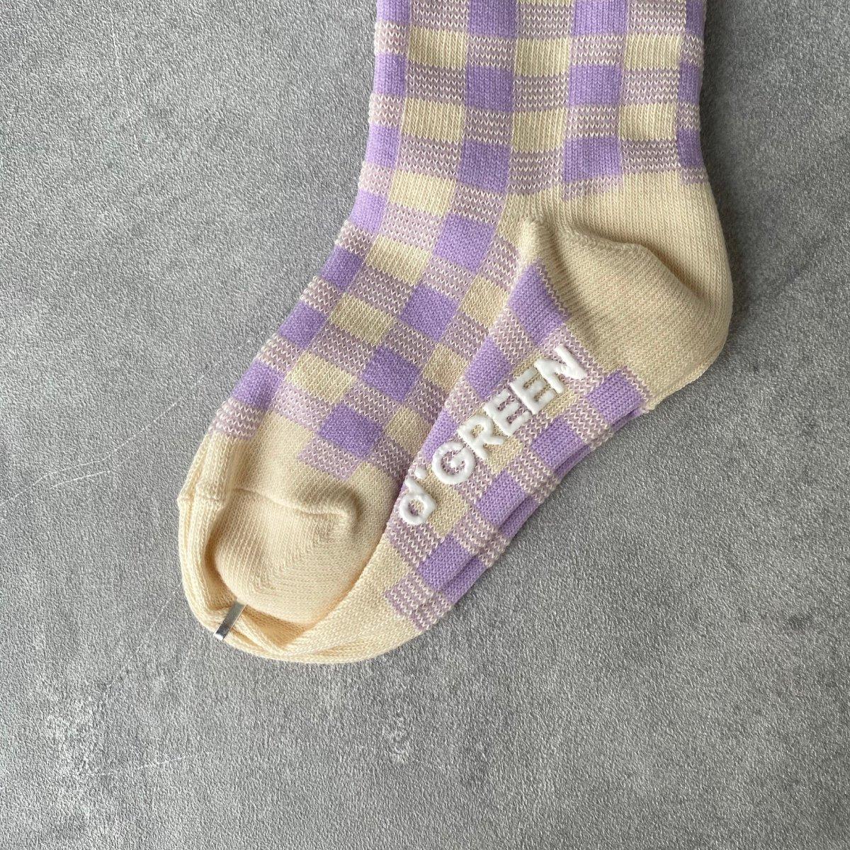 【BABY】Natural Check Socks 詳細画像10