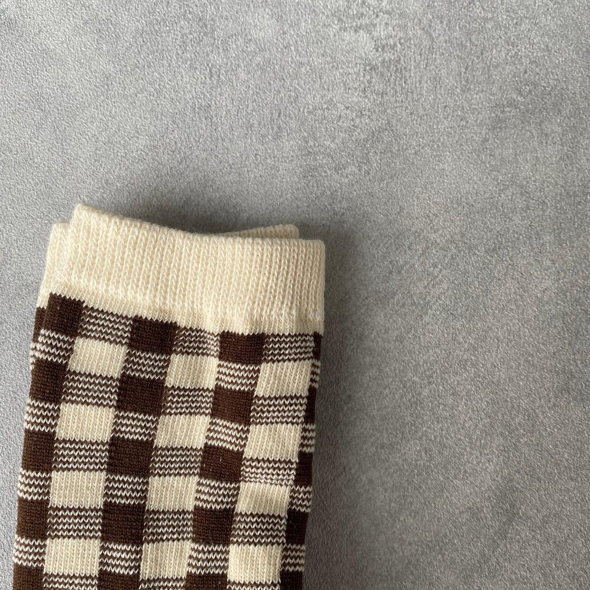 【BABY】Natural Check Socks 詳細画像17