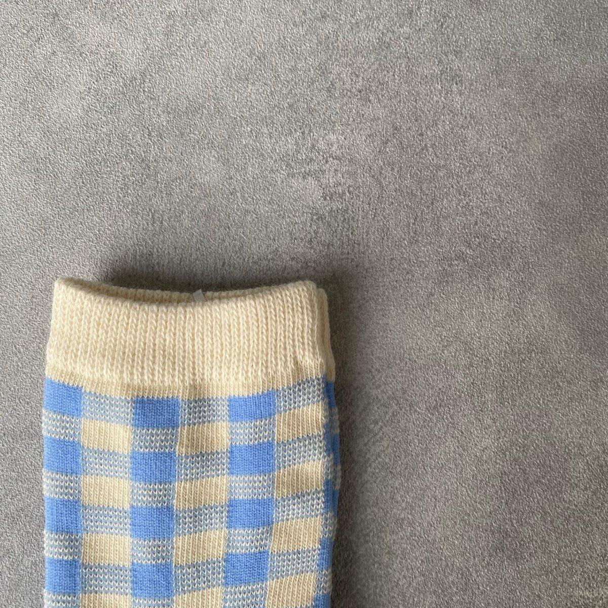 【KIDS】Natural Check Socks 詳細画像12