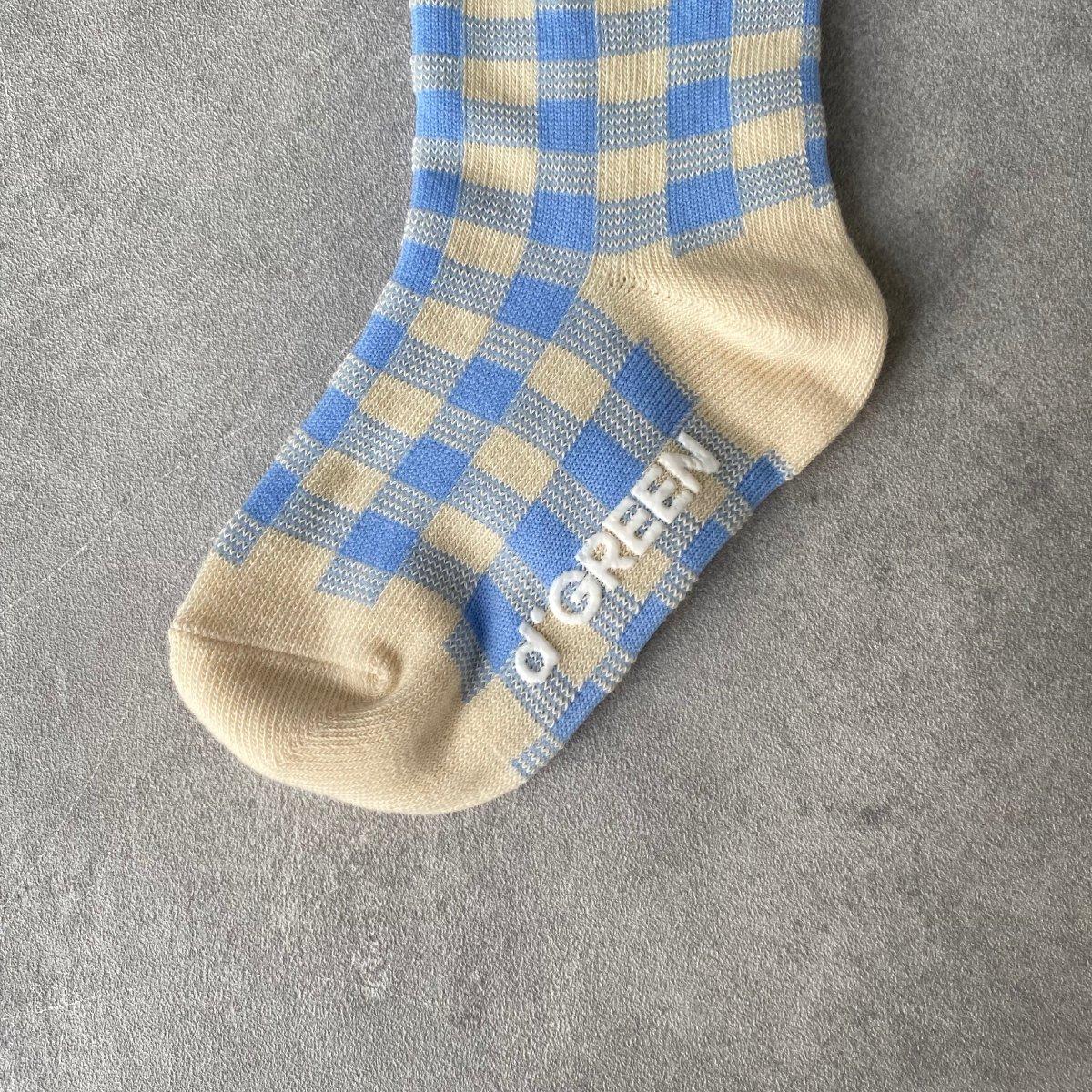 【KIDS】Natural Check Socks 詳細画像13