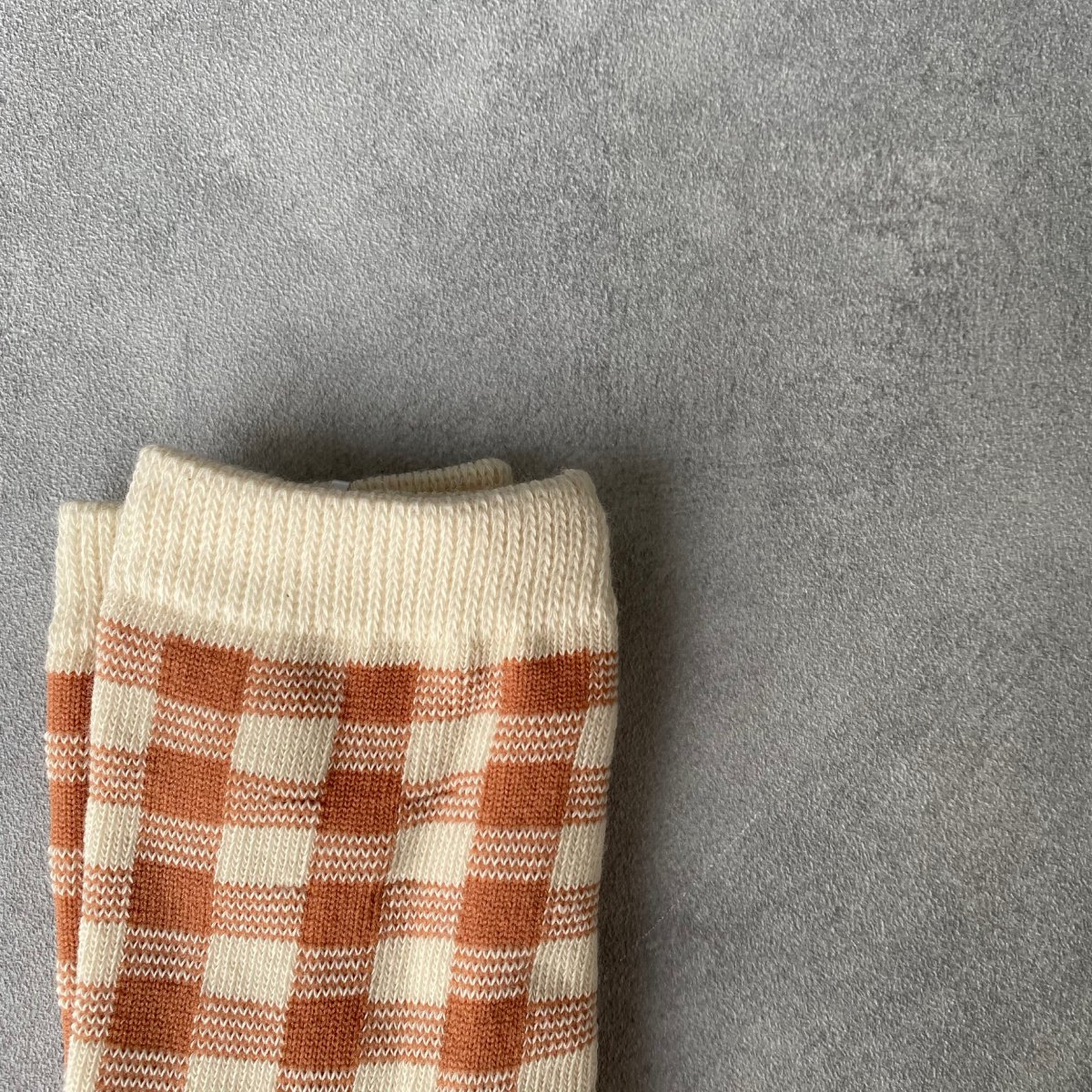 【KIDS】Natural Check Socks 詳細画像14