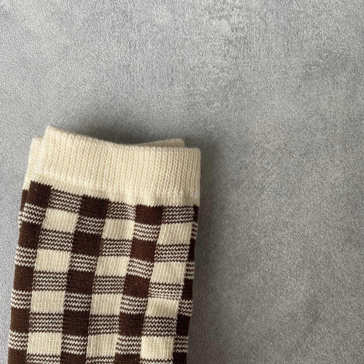【KIDS】Natural Check Socks 詳細画像16