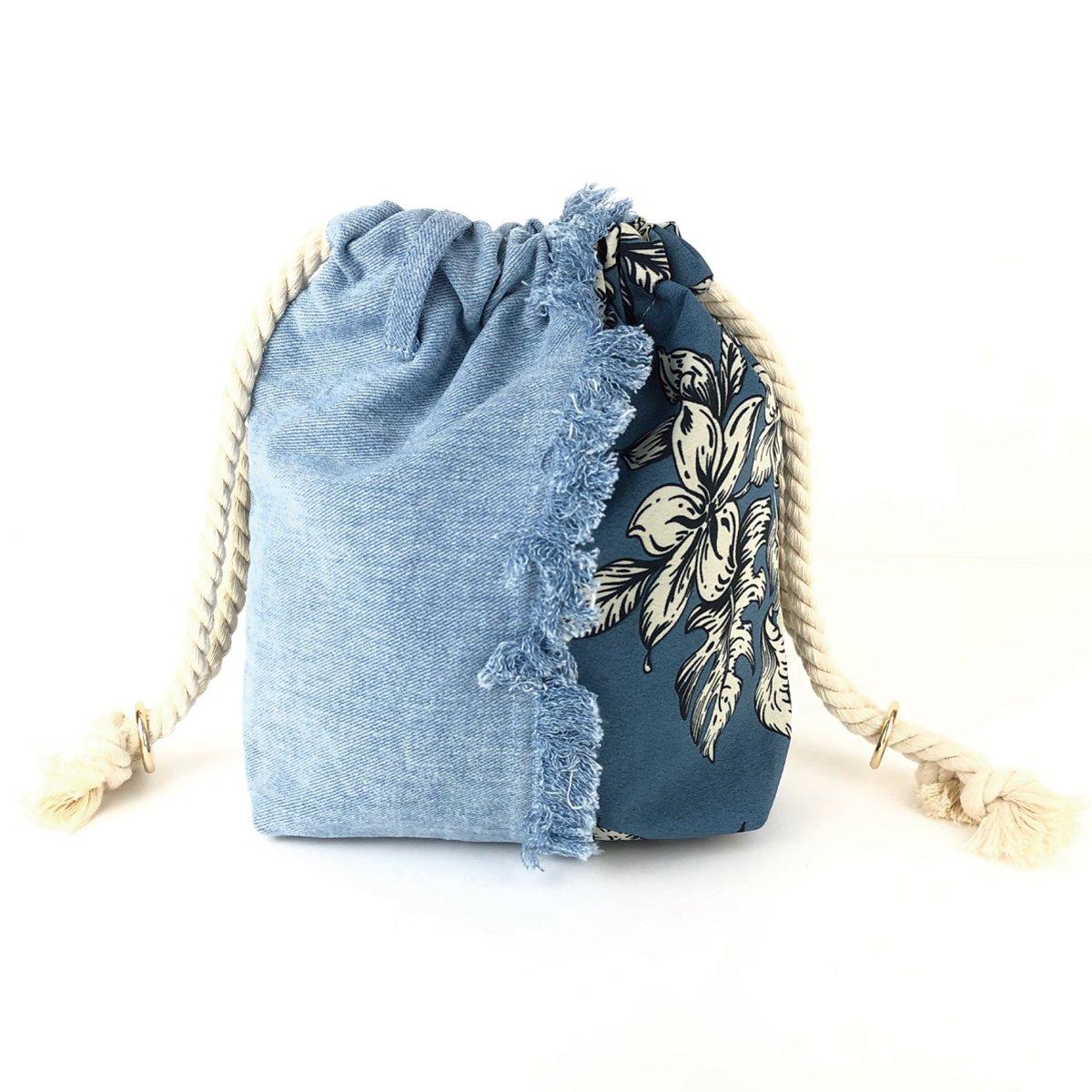 Denim Fringe Bag 詳細画像2