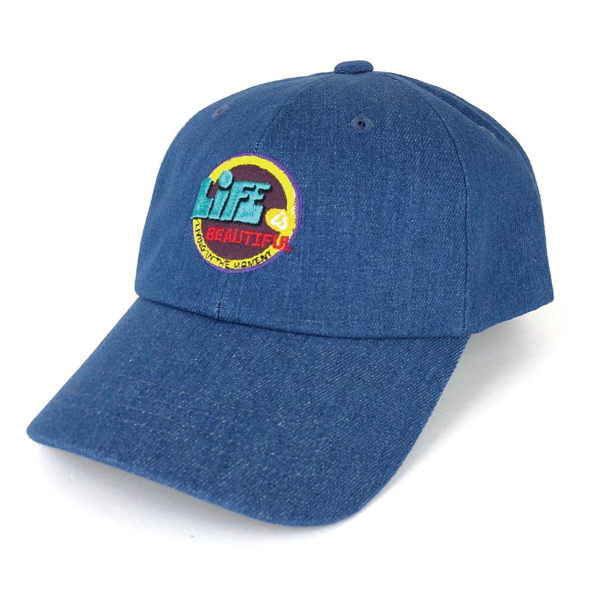 Denim Wappen Cap 詳細画像2