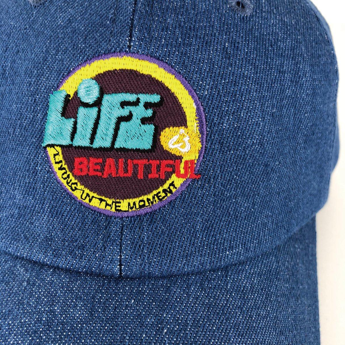 Denim Wappen Cap 詳細画像8