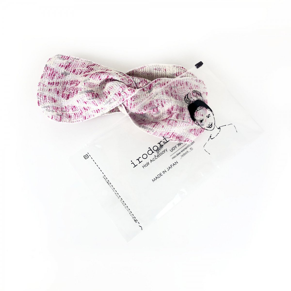 Pink Weave Turban 詳細画像6