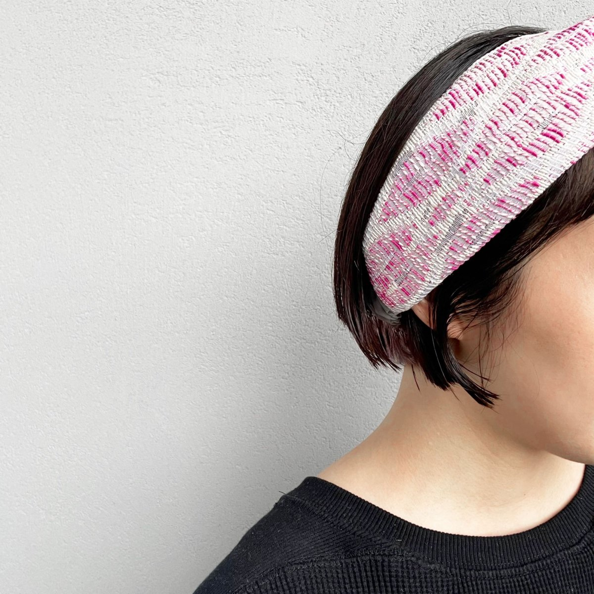 Pink Weave Turban 詳細画像7