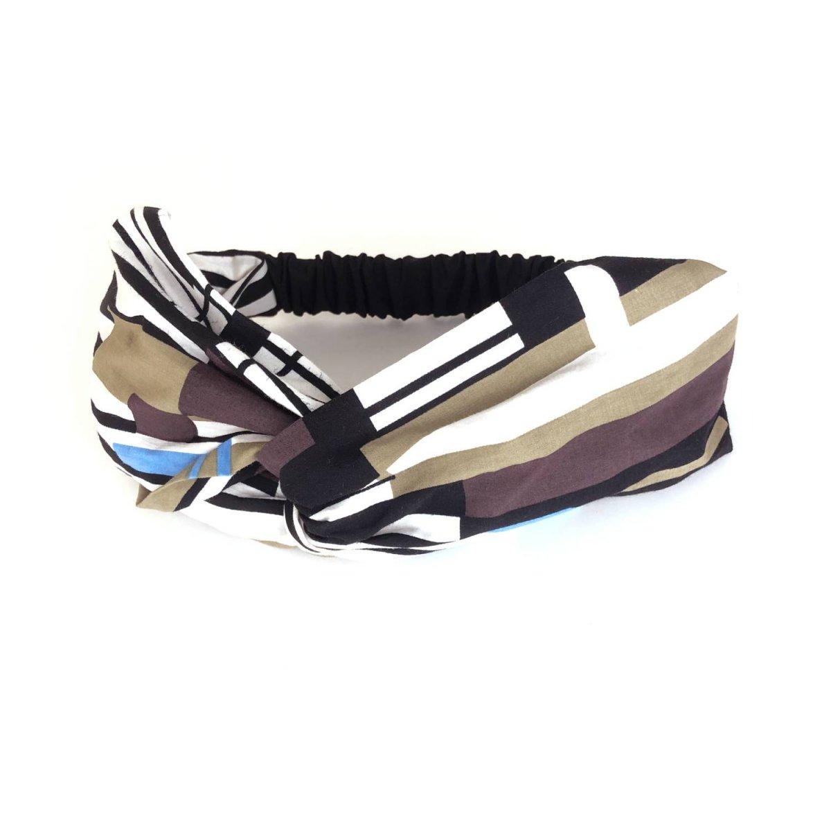 Stripe Design Turban 詳細画像1