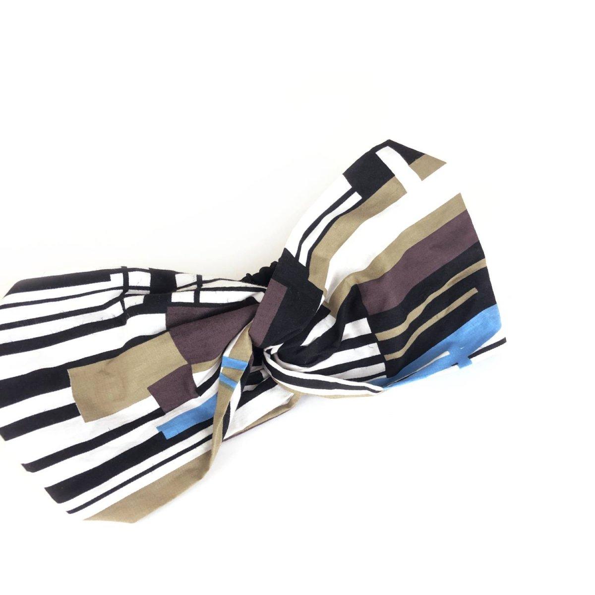 Stripe Design Turban 詳細画像2