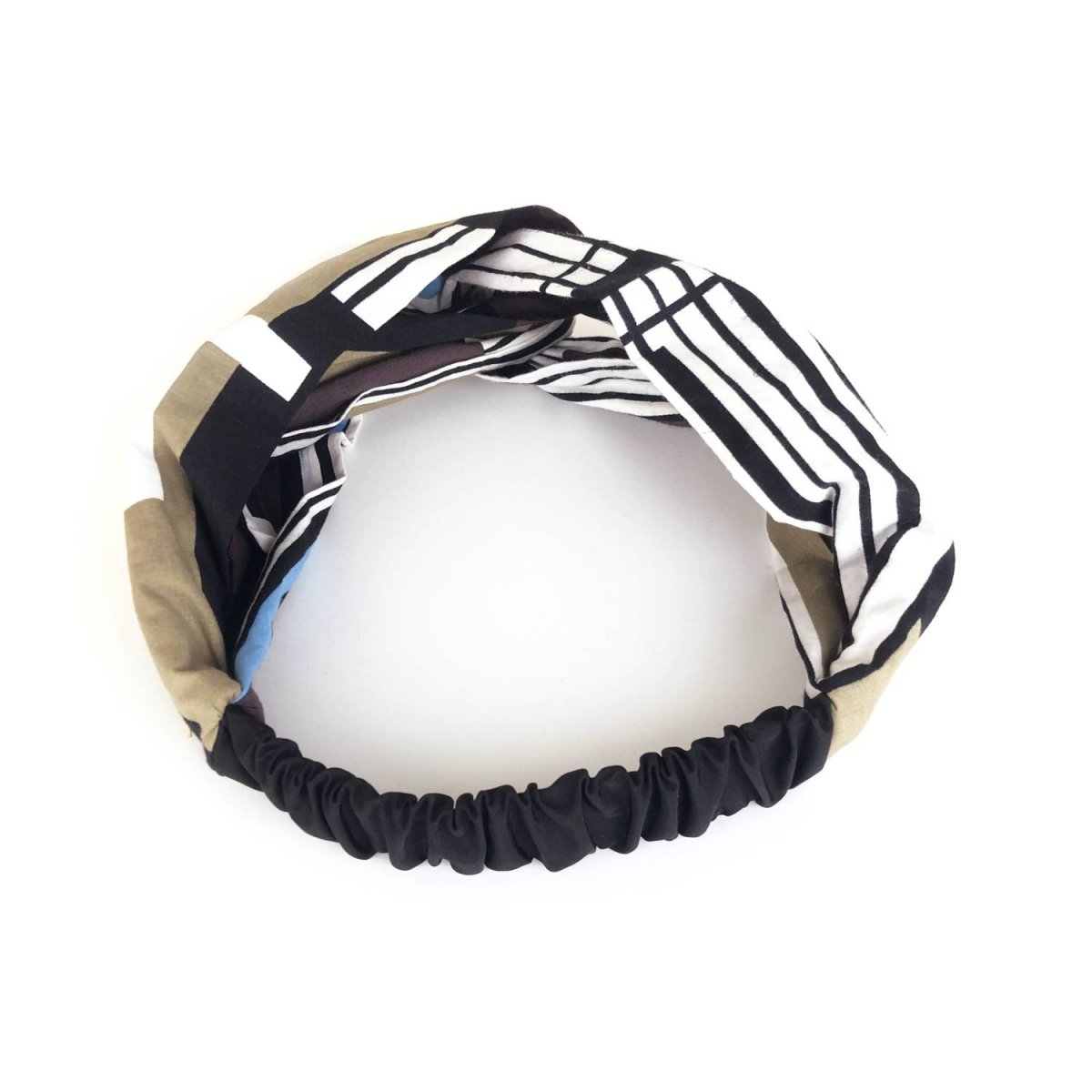 Stripe Design Turban 詳細画像4