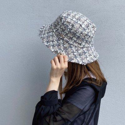 Tweed Fringe Hat