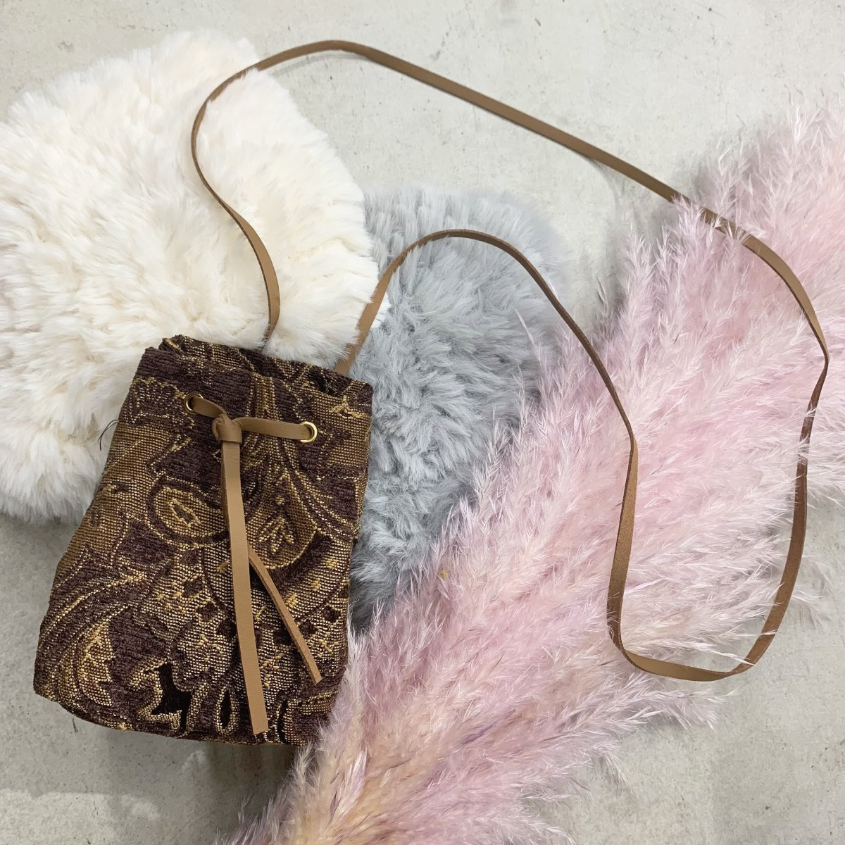 Antique Gobelin Bag 詳細画像1