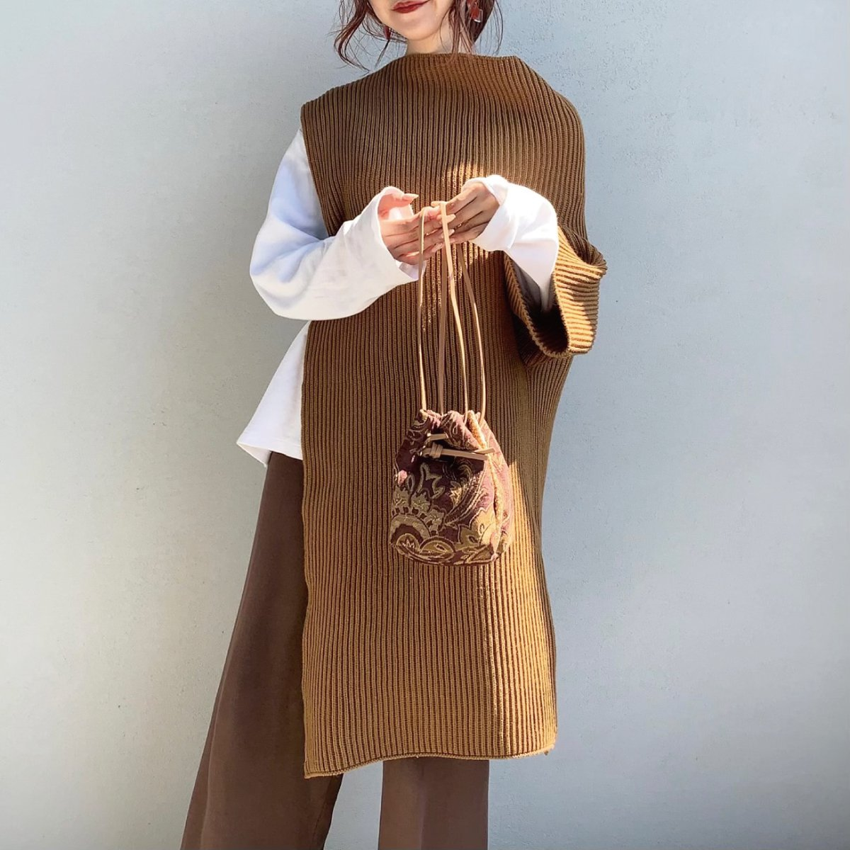 Antique Gobelin Bag 詳細画像5