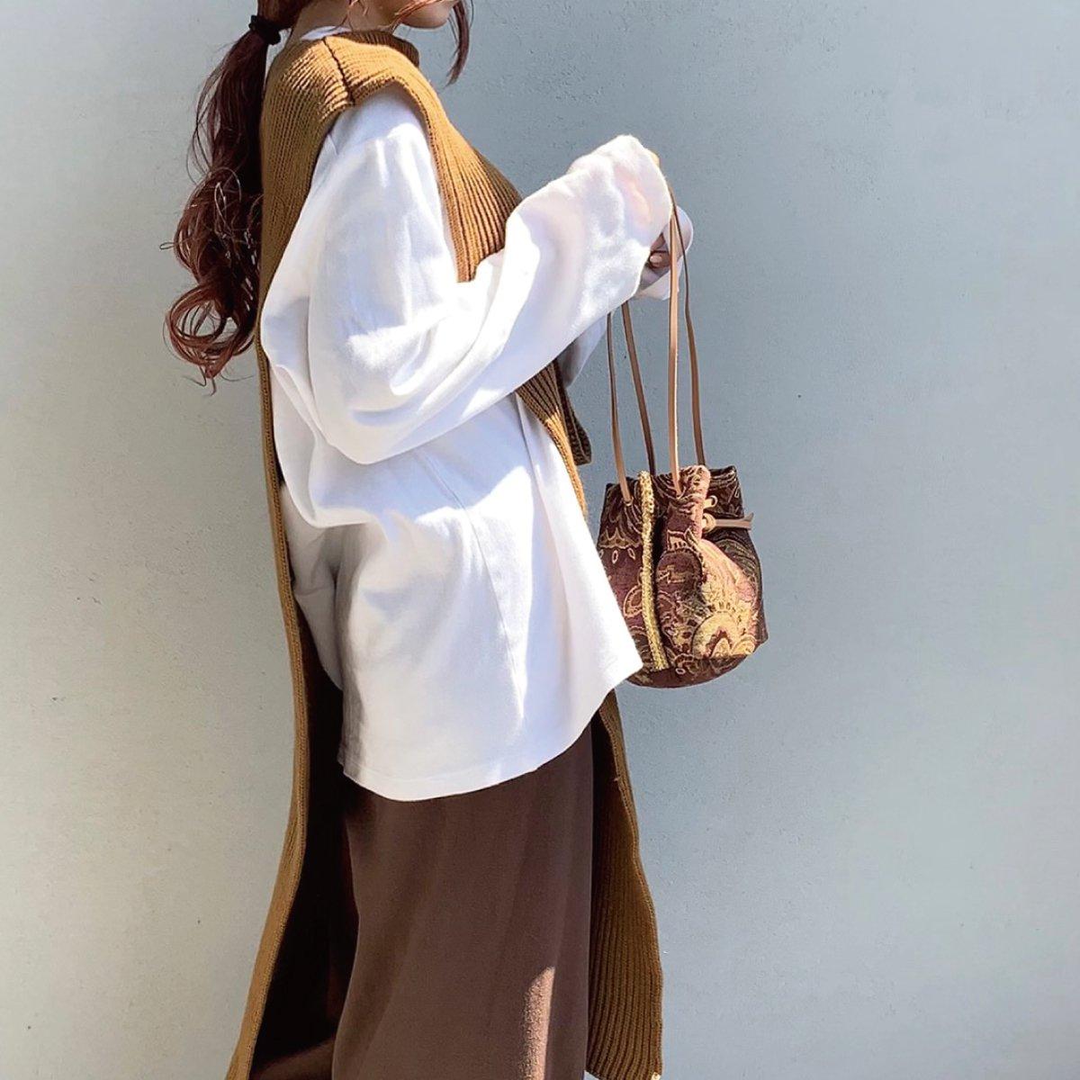 Antique Gobelin Bag 詳細画像7
