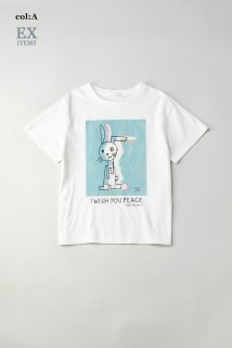 I WISH YOU PEACEのTシャツ