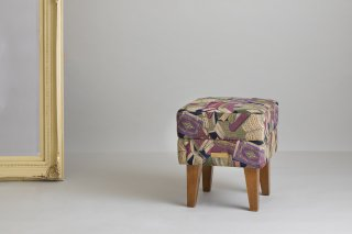 Original Fabric Stool オールドブック