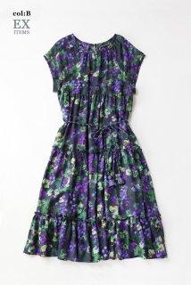 Grape palaceティアードドレス