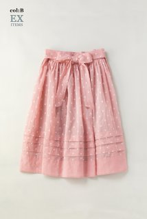 Sprinkled flowersラップスカート