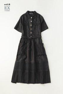 パターンmixワーキングドレス