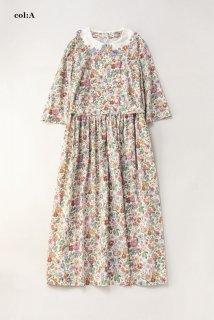 Heirloom Flower embroideryカラードレス