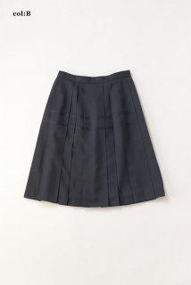 ドレープツイル キャトルプリーツスカート