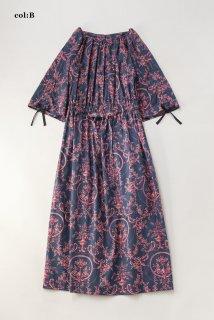 Marie Antoinetteドローストリングスリーブドレス