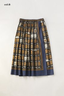 Bespoke key platesラップスカート