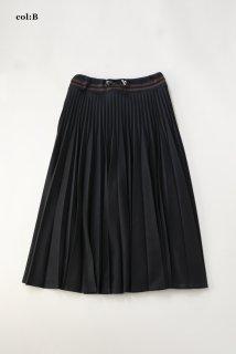 エミリアーナパイル ダブルアコーディオンスカート