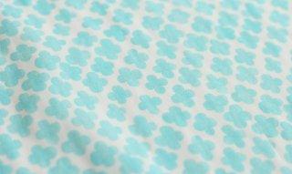 [カット済 50cm×50cm] flowertile(ブルー)