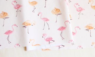 fabric:flamingo(ピンク)