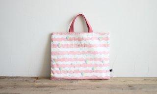 レッスンバッグ(おけいこバッグ)手作りキット:sora/ピンク