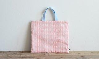 レッスンバッグ(おけいこバッグ)手作りキット:shizuku/ピンク