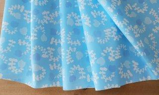 fabric:smallgarden(ブルー)