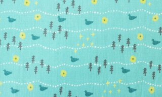 fabric:osanpo(ブルー)