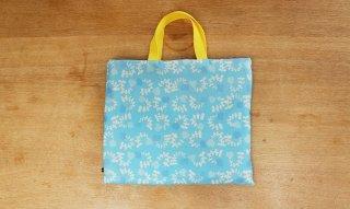 レッスンバッグ(おけいこバッグ)手作りキット:smallgarden/ブルー