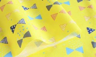 fabric:リボン(イエロー)