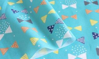 fabric:リボン(ターコイズブルー)