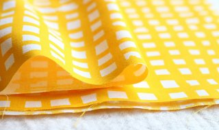 nunocoto fabric:madomado(イエロー)