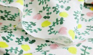 fabric:smallgarden(ホワイト)