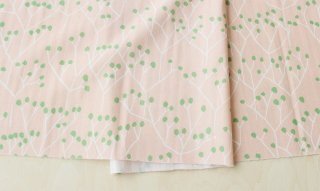 nunocoto fabric:tree(ピンク)