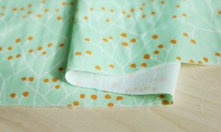 nunocoto fabric:tree(グリーン)