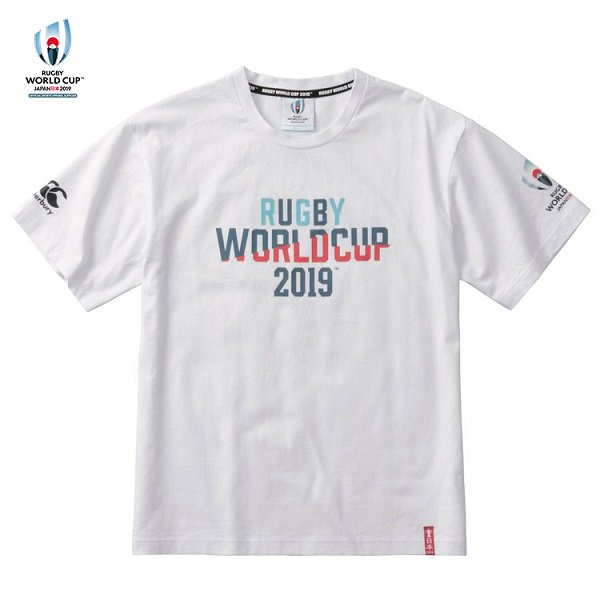 【カンタベリー】RWC2019 ティーシャツ ホワイト