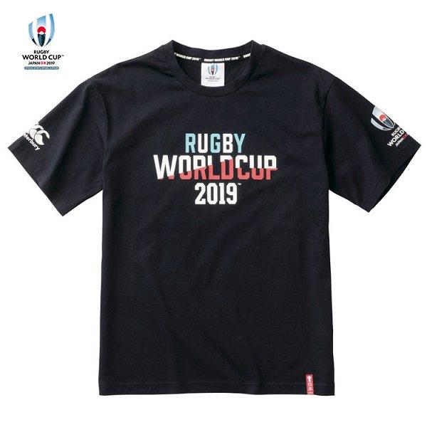【カンタベリー】RWC2019 ティーシャツ ネイビー