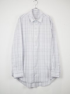 <img class='new_mark_img1' src='//img.shop-pro.jp/img/new/icons14.gif' style='border:none;display:inline;margin:0px;padding:0px;width:auto;' />[URU] PLAID STANDARD SHIRT -L.GRAY-