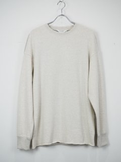 [DIGAWEL] SWITCH SWEATSHIRT -BEIGE/BEIGE-